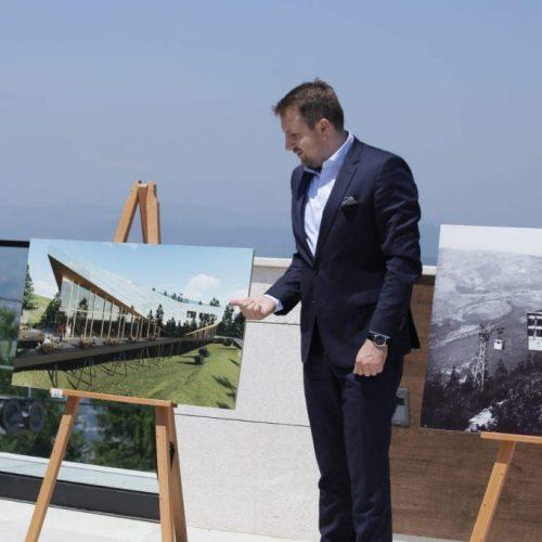 """Nova atrakcija iznad Sarajeva: Naredne godine bit će otvoren """"Vidikovac"""""""