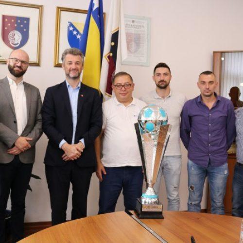 KS: Upriličen prijem reprezentacije Dia BiH – evropskih prvaka