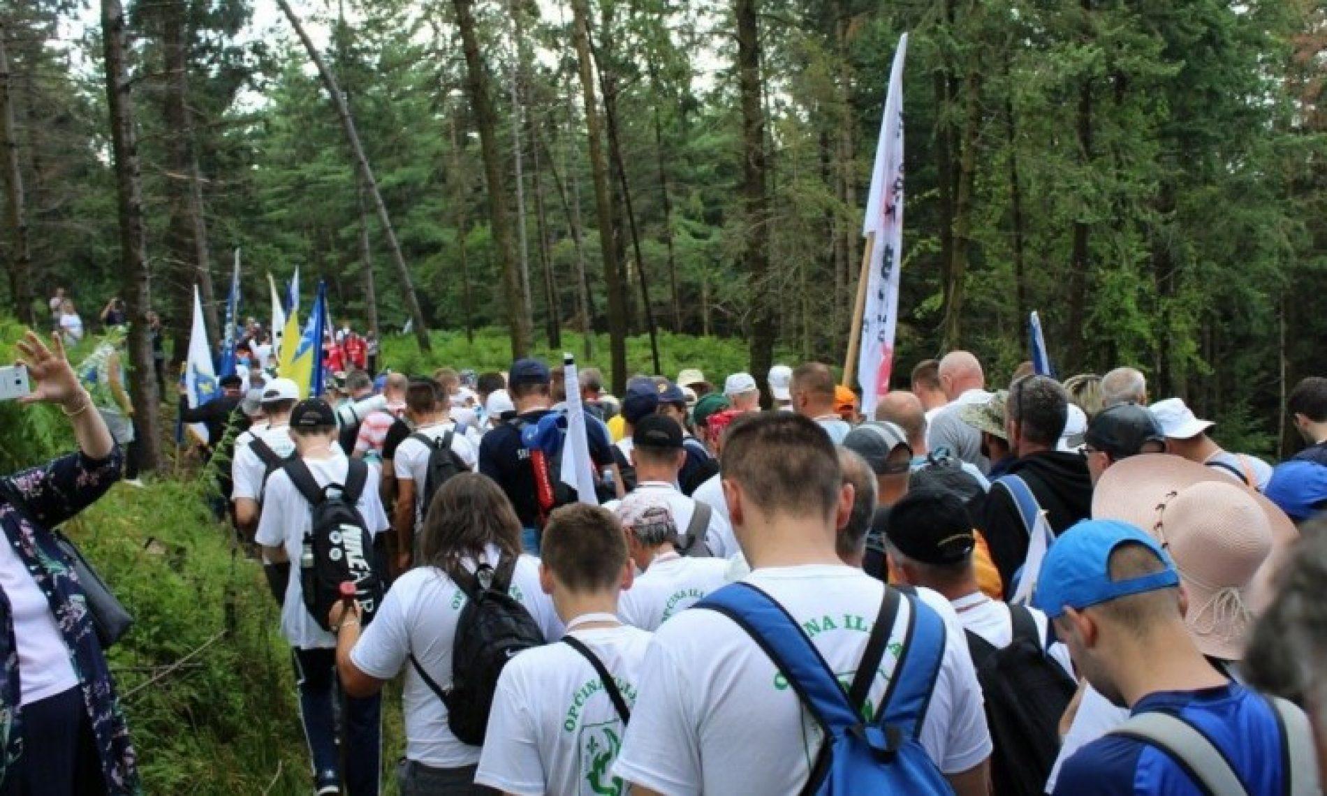Oko šest i po hiljada učesnika na 'Maršu mira'