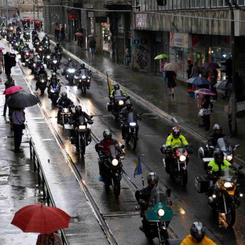 Više od 500 motorista iz Sarajeva krenulo za Potočare