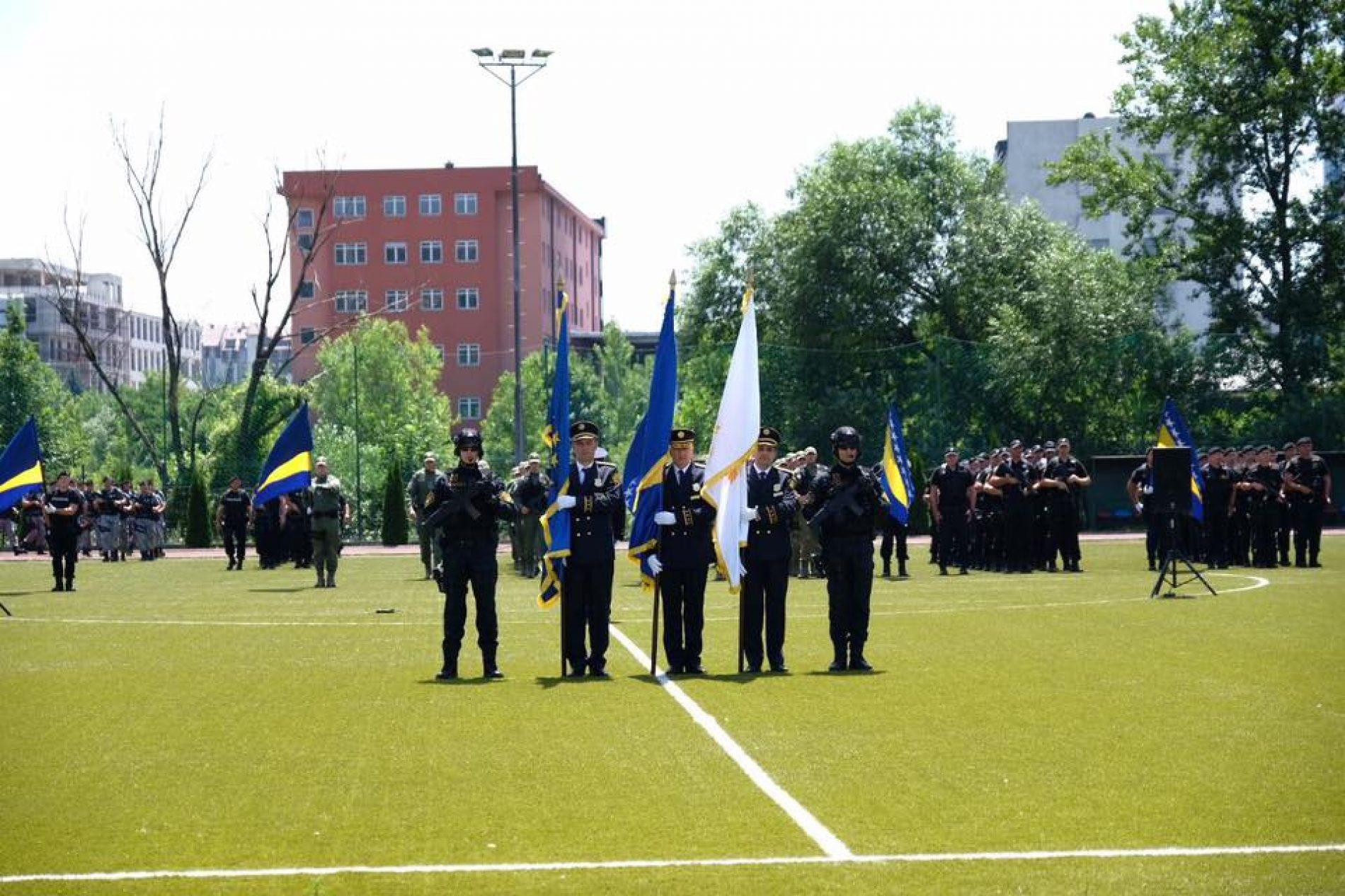 Svečana ceremonija povodom obilježavanja 1. jula Dana policije FBiH