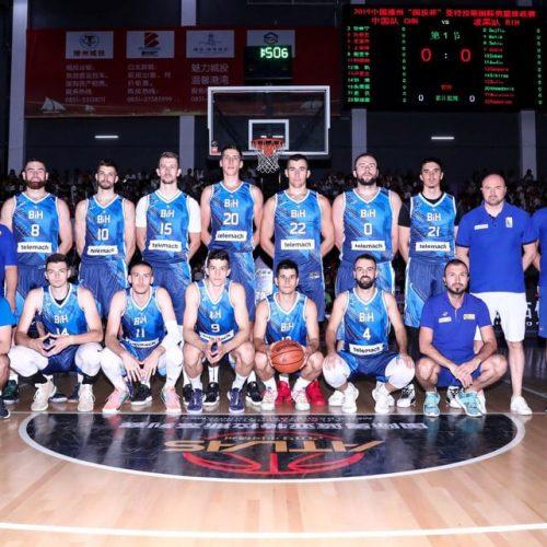Košarkaši Bosne i Hercegovine pobijedili Kineze