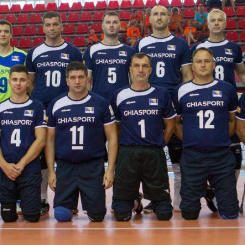 Pobjede bosanske reprezentacije u sjedećoj odbojci na početku EP-a
