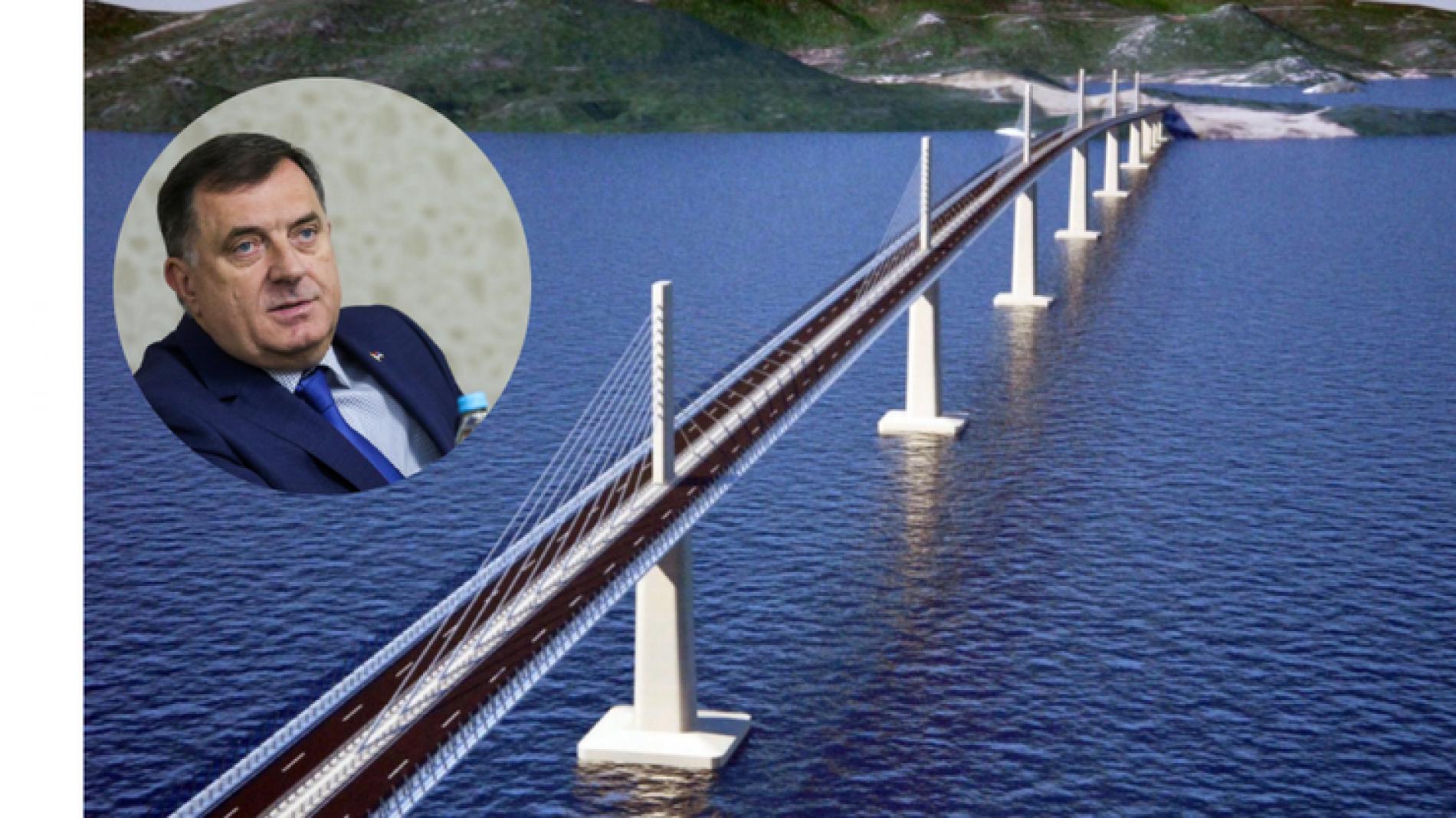 Dodik ima jako dobre razloge zašto brani Pelješki most – Integral Inženjering iz Laktaša!