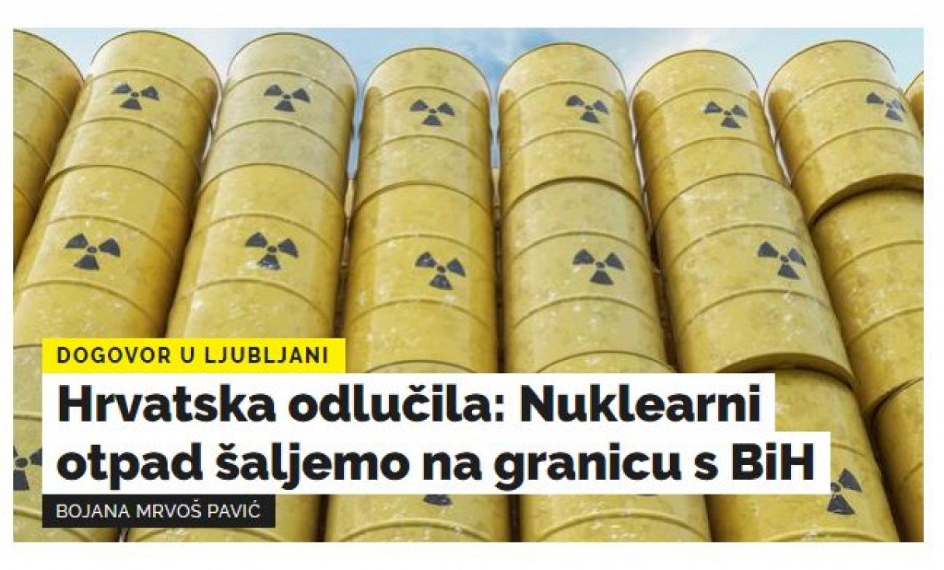 Dok Dodik štiti interese Hrvatske u slučaju Pelješkog mosta, oni mu šalju otpad pod nos