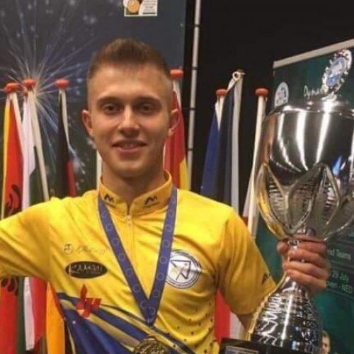 Pehlivanović juniorski prvak Evrope u bilijaru