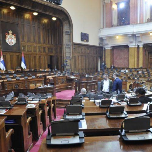 Negiranje genocida u Skupštini Srbije i zahvale Mladiću