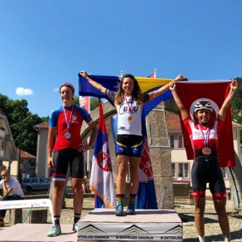 Biciklizam: Lejla Tanović četvrti put balkanska prvakinja