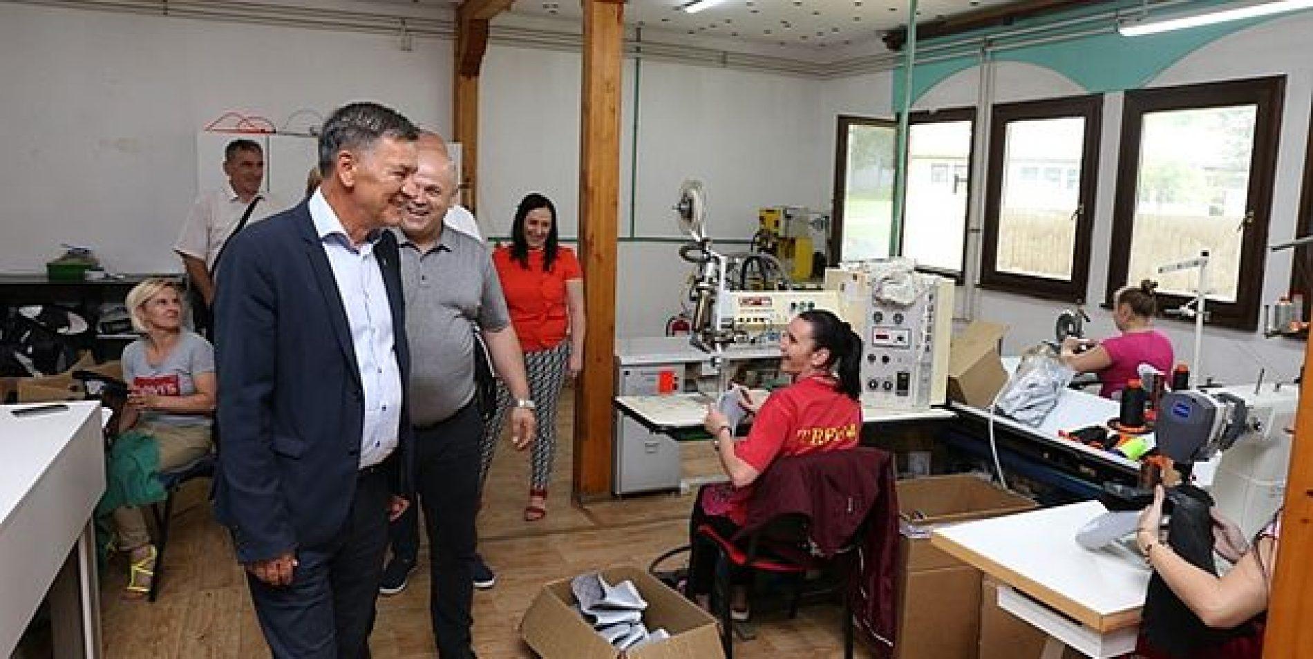 Zenica: Gradonačelnik posjetio novotvorene pogone preduzeća Ecocomfort d.o.o. Zenica