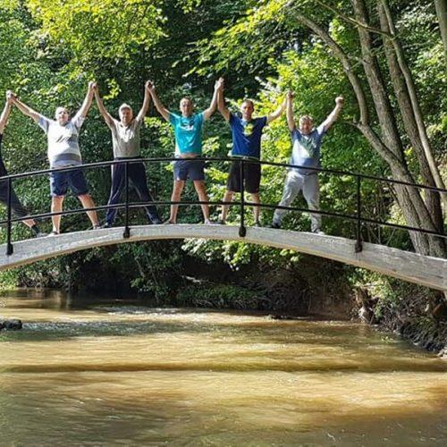 Krajina: Komšije se same povezale mostom; izgradili ga za dvije sedmice