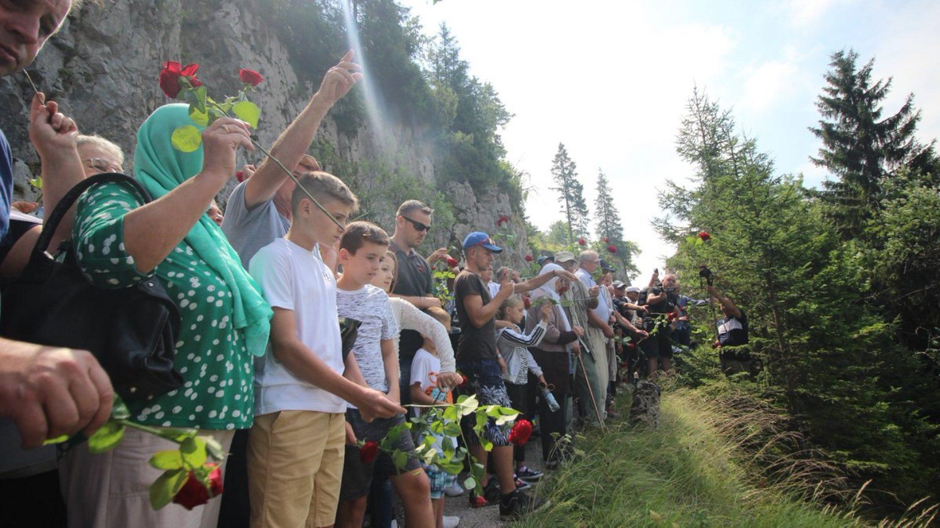 Na Korićanskim stijenama obilježena godišnjica ubistva dvije stotine logoraša