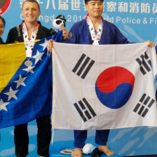Svjetske igre policajaca i vatrogasaca: Anes Ličina osvojio dvije medalje