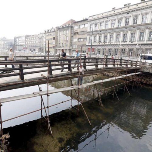 Grad Sarajevo obnavlja most 'Drvenija'
