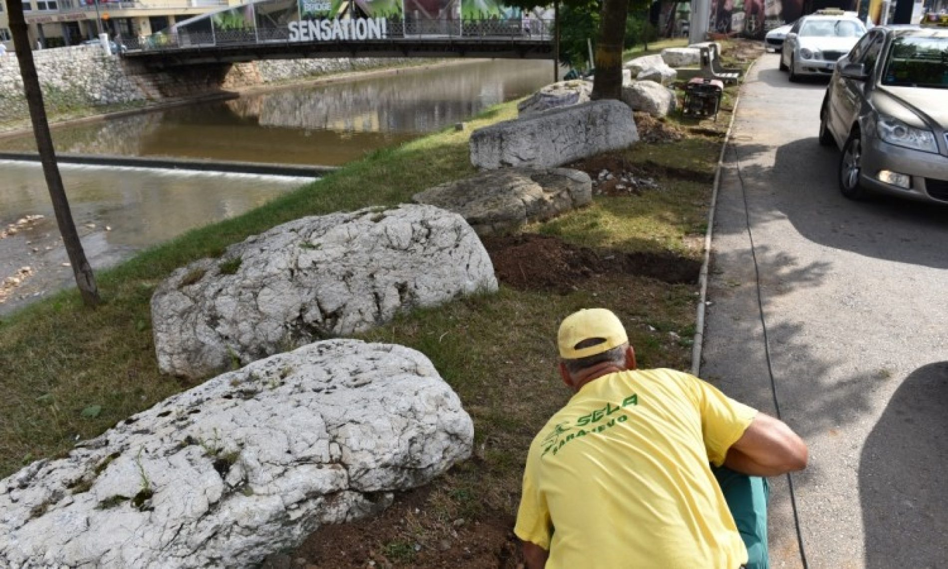 Sarajevo: Zaštita stećaka na Skenderiji