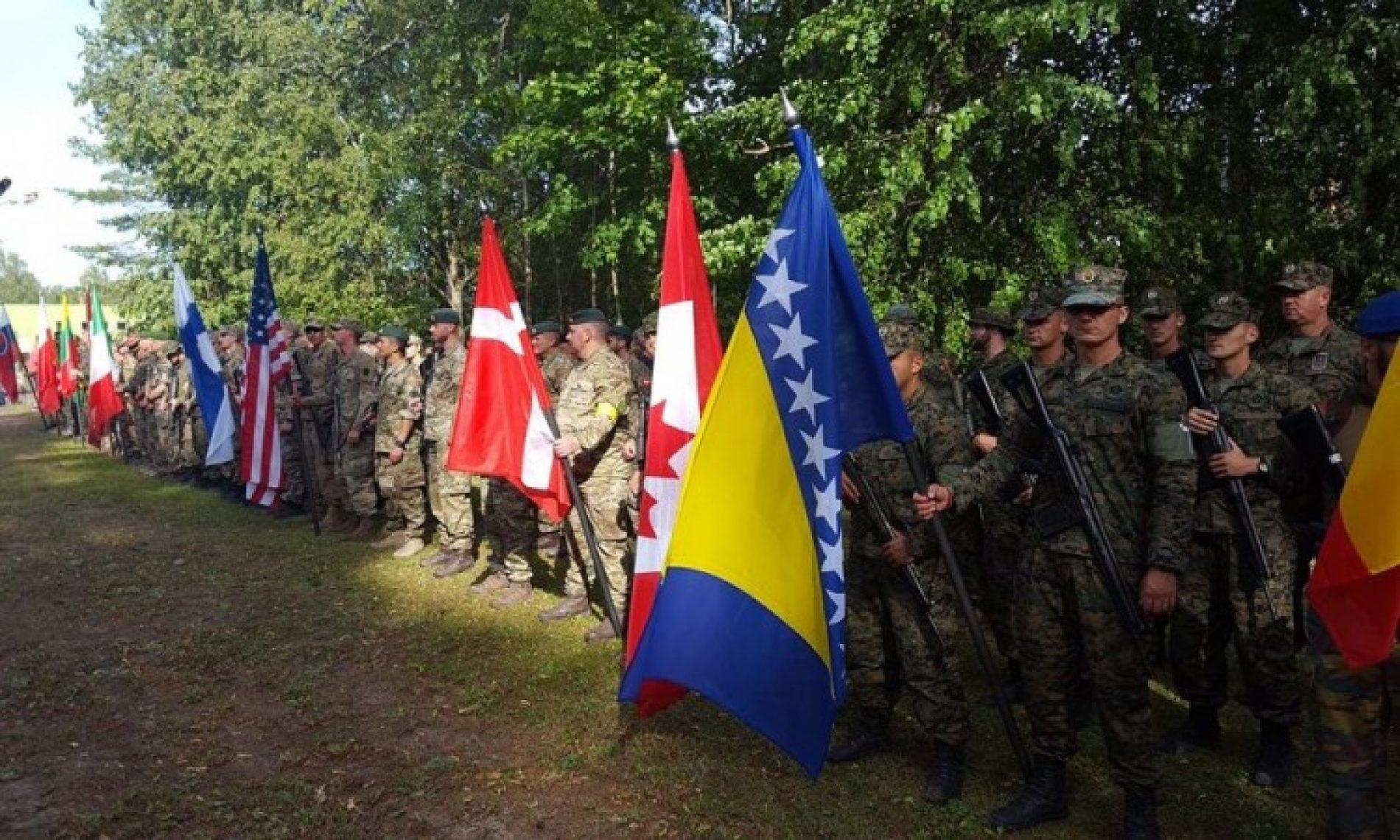Pripadnici OSBiH na takmičenju u Estoniji