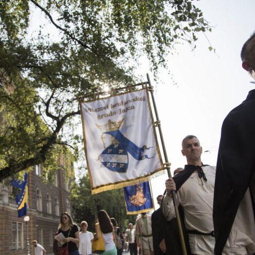 Viteškom promenadom u Sarajevu obilježena 830. godišnjica Povelje Kulina bana
