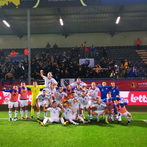 Mladi Zmajevi neporaženi u Belgiji