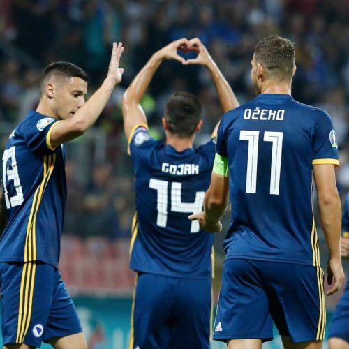 Kvalifikacije za Euro 2020: Pobjeda Bosne u Zenici