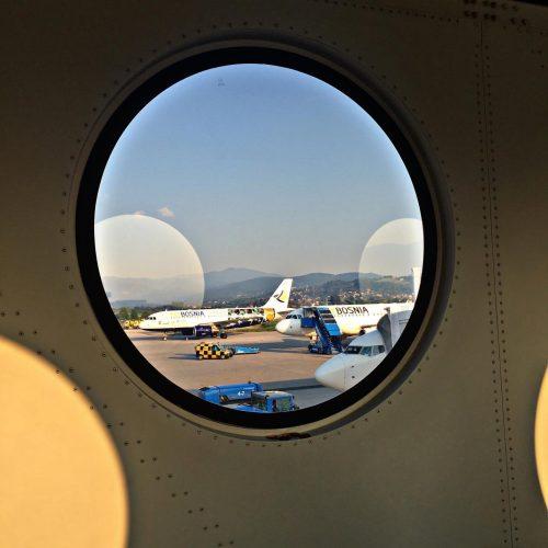 Međunarodni aerodrom Sarajevo: 12 posto više putnika u odnosu na august 2018.