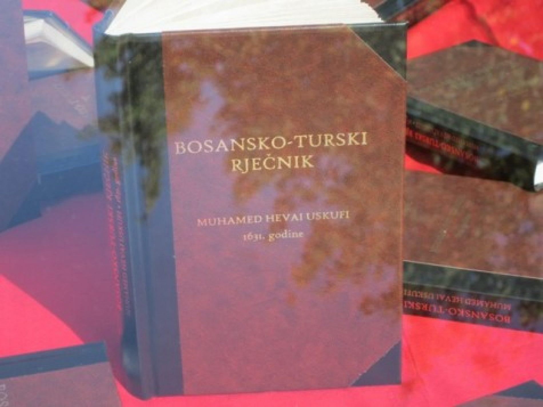 Prvi bosanski rječnik: Gradu Tuzla 2.000 bosansko-turskih rječnika