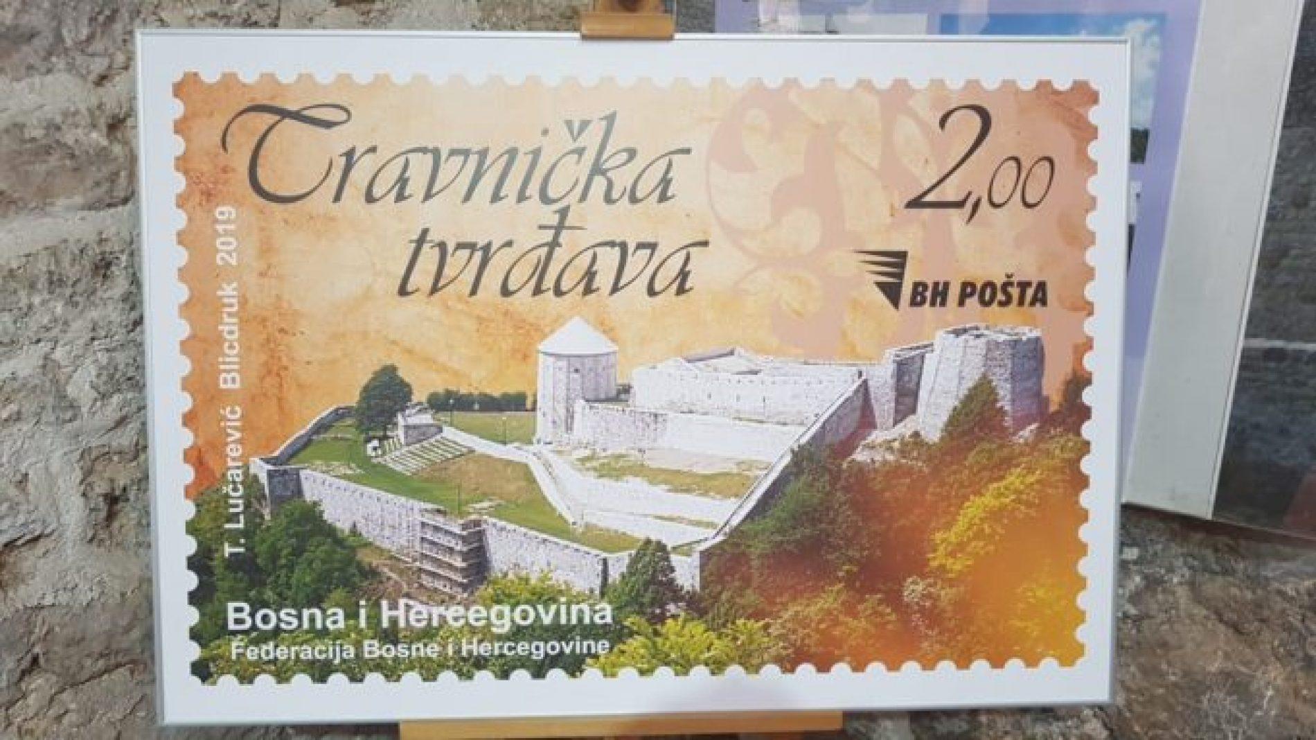 Travnička tvrđava dobila svoju poštansku marku (Video)
