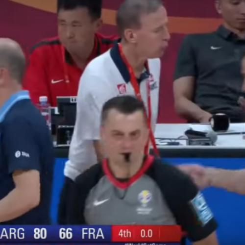 Bosanac je danas sudio polufinale SP-a u košarci!
