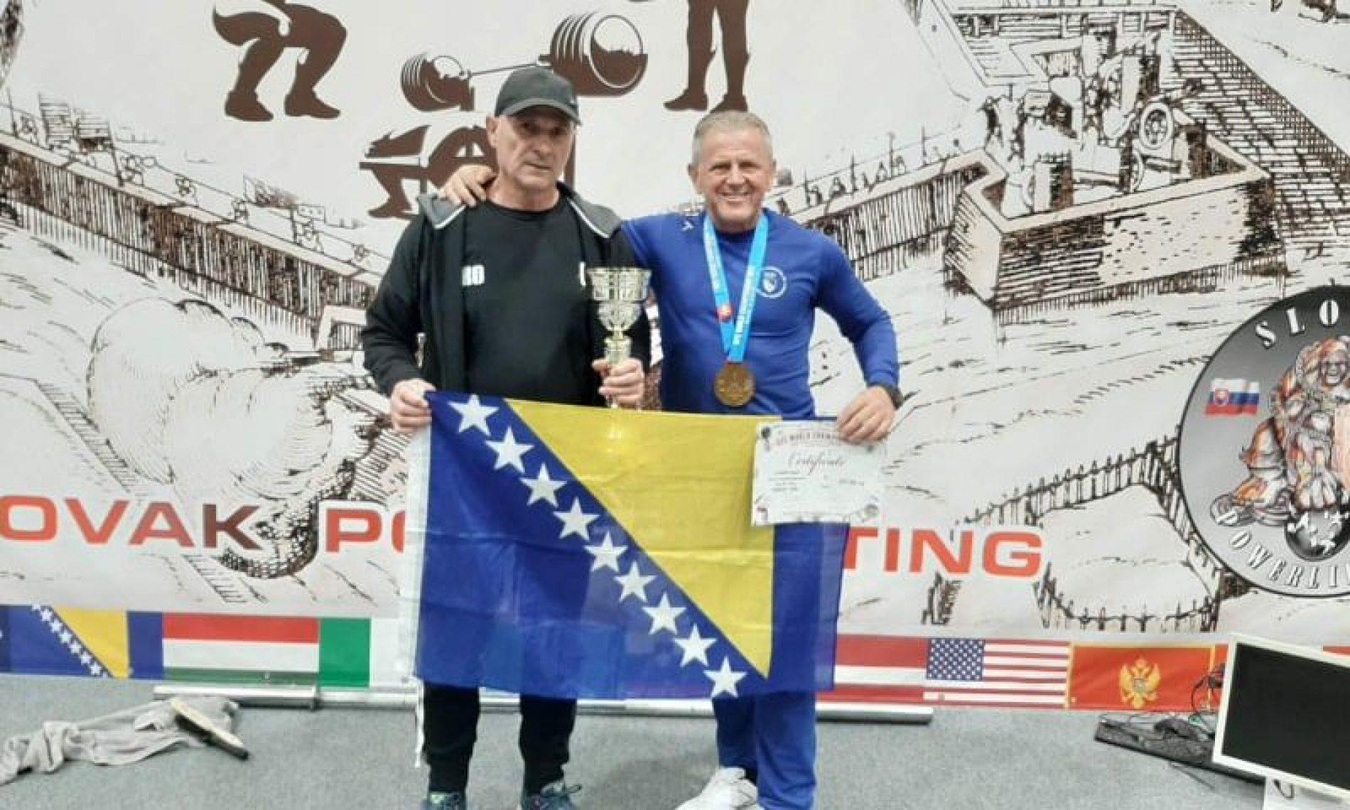 Sejfo Šehović na SP-u uz prvo mjesto oborio i svjetski rekord