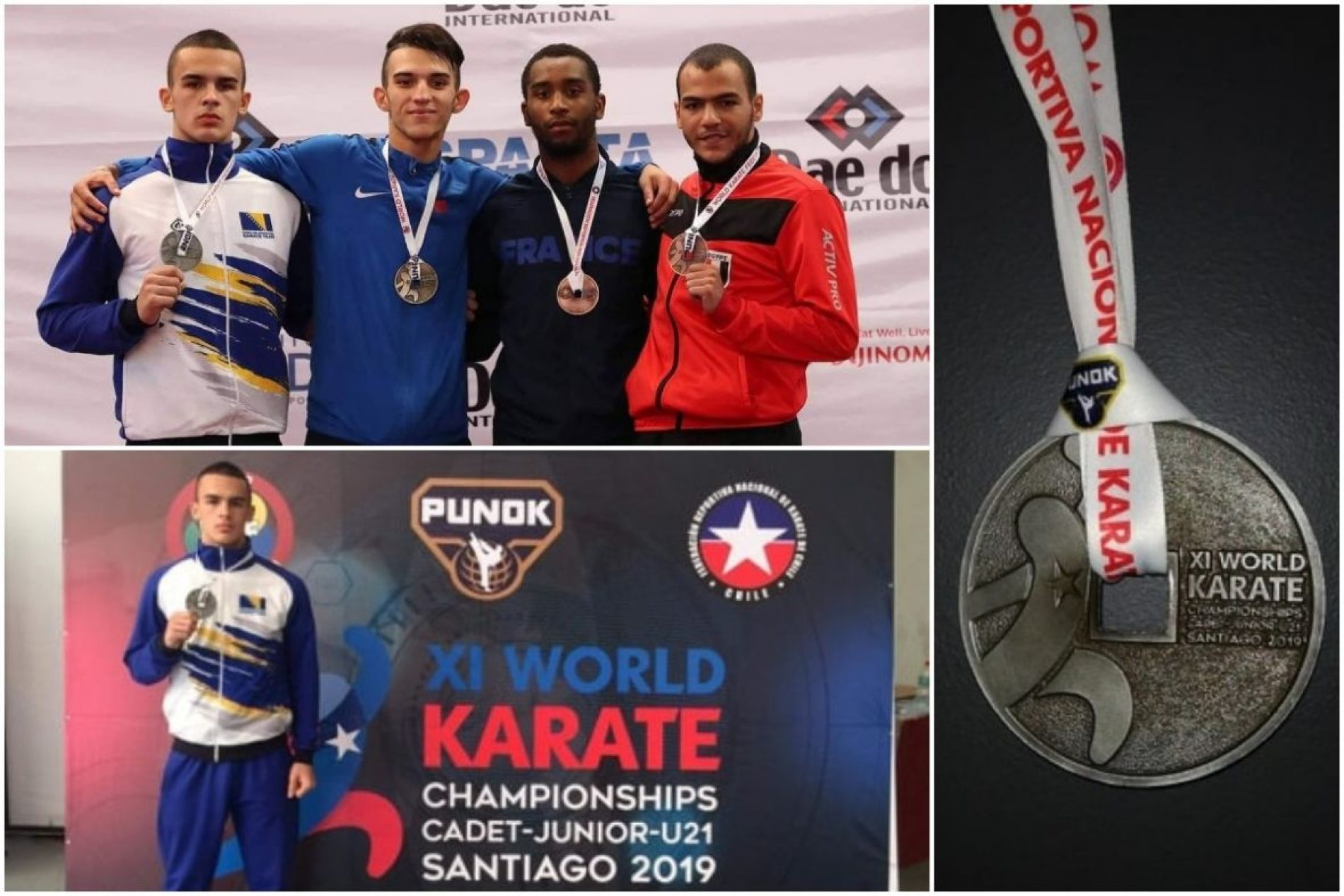 Hamza Turulja, svjetski viceprvak u karateu: Medalja za roditelje i Bosnu