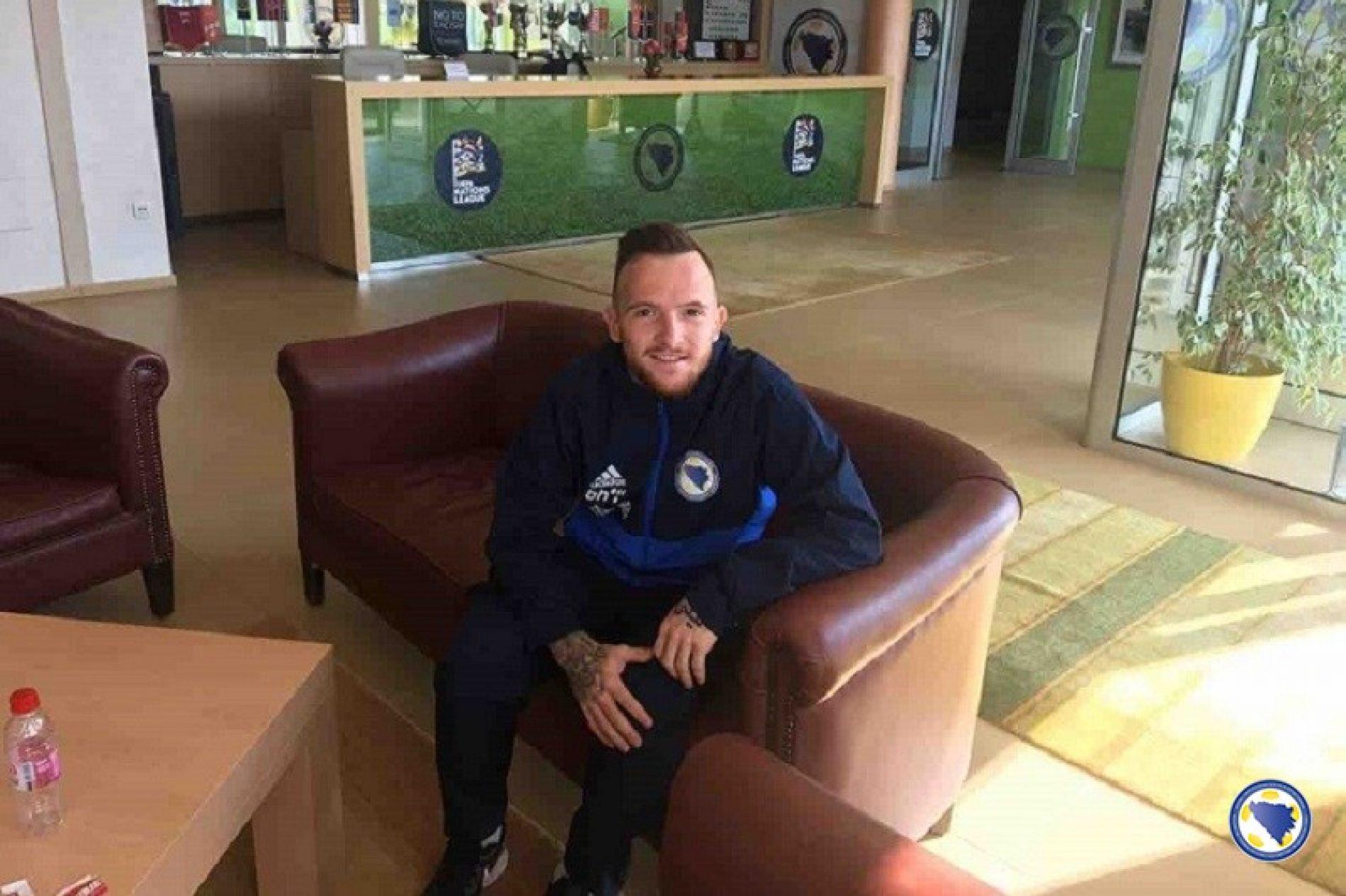 Dino Hotić: Jako sam sretan što sam sad i ja dio ove reprezentacije