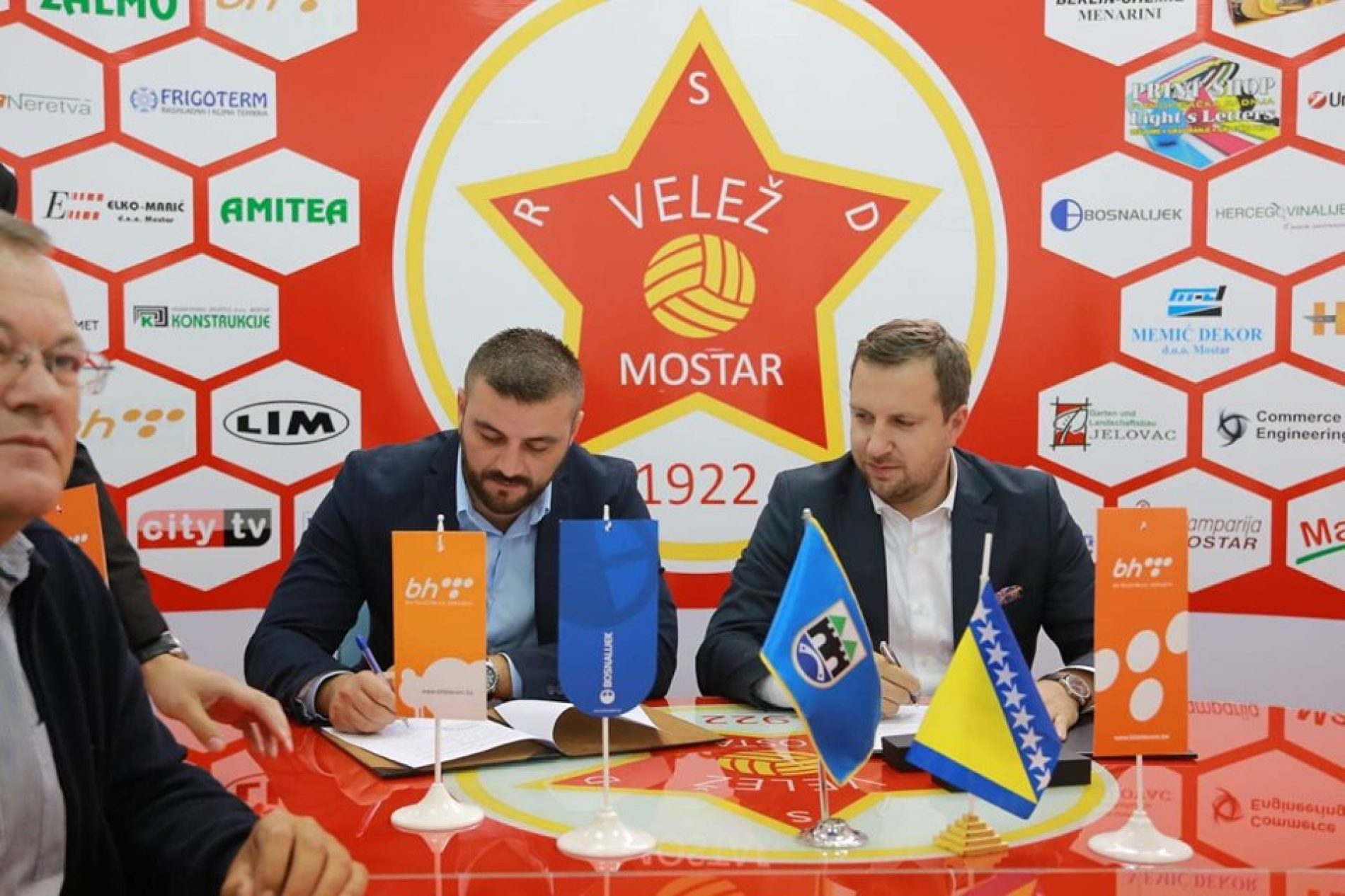 Grad Sarajevo podržao mostarski FK Velež