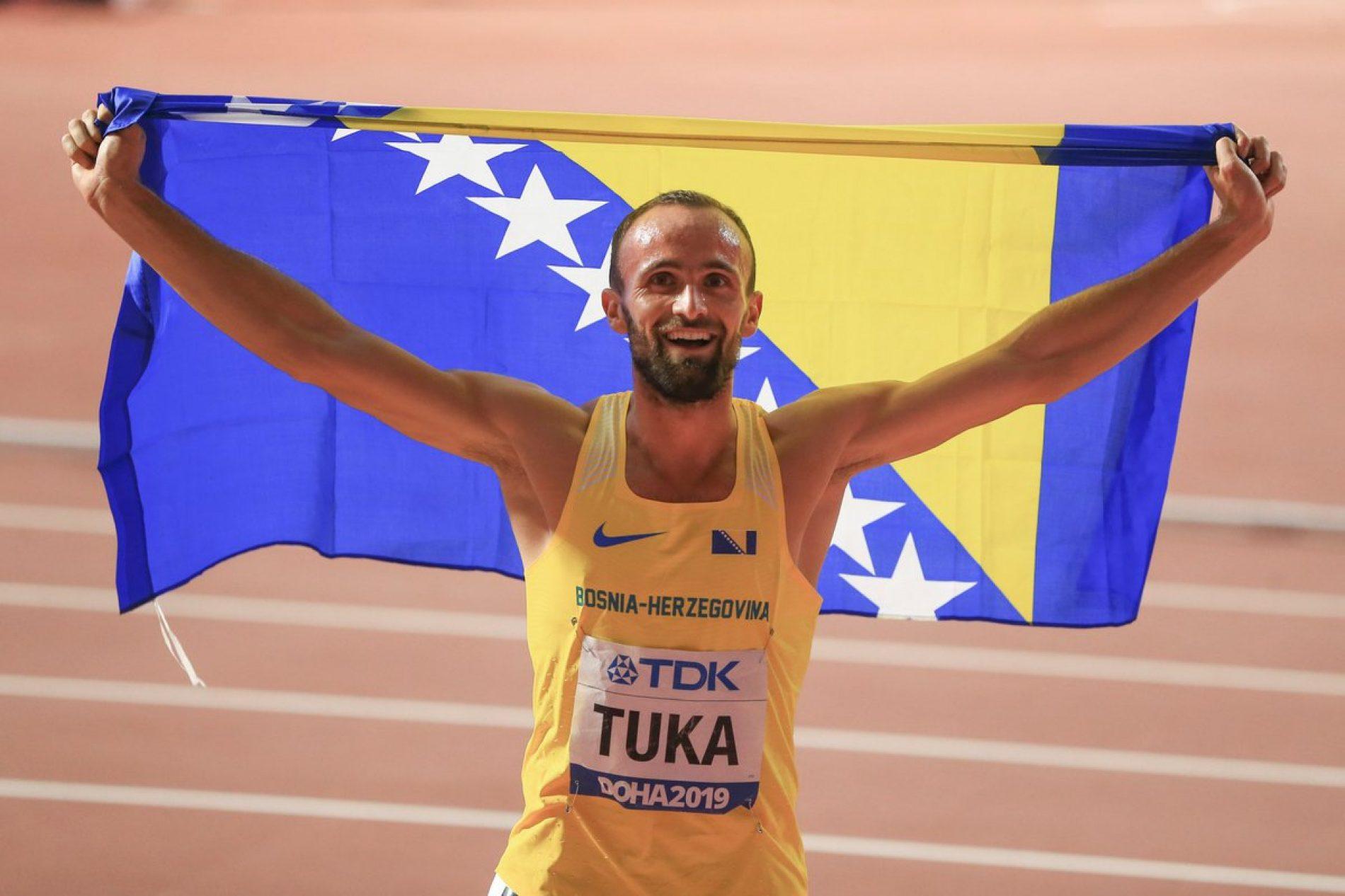 Olimpijski komitet BiH nagradio Amela Tuku sa 15.000 KM