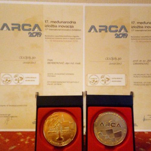 Dva zlata, srebro i dvije bronze za bosanske inovatore u Zagrebu