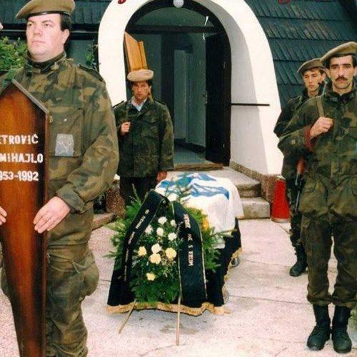 Godišnjica pogibije heroja odbrane Travnika, majora Mihajla Petrovića