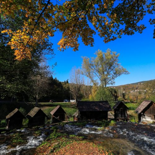 Jesen na mlinčićima u Jajcu