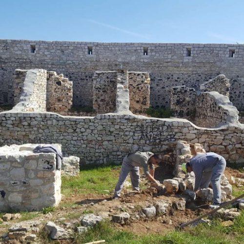 Nastavak radova na saniranju i konzerviranju zidnih struktura Bijele tabije