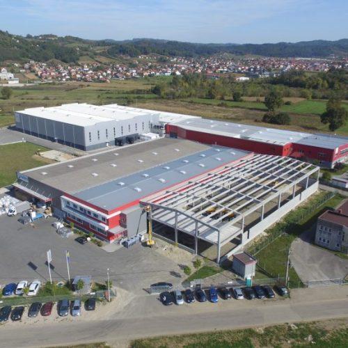 Širbegović oborio rekord: U oktobru proizvedeno i montirano 80.000 m2 objekata