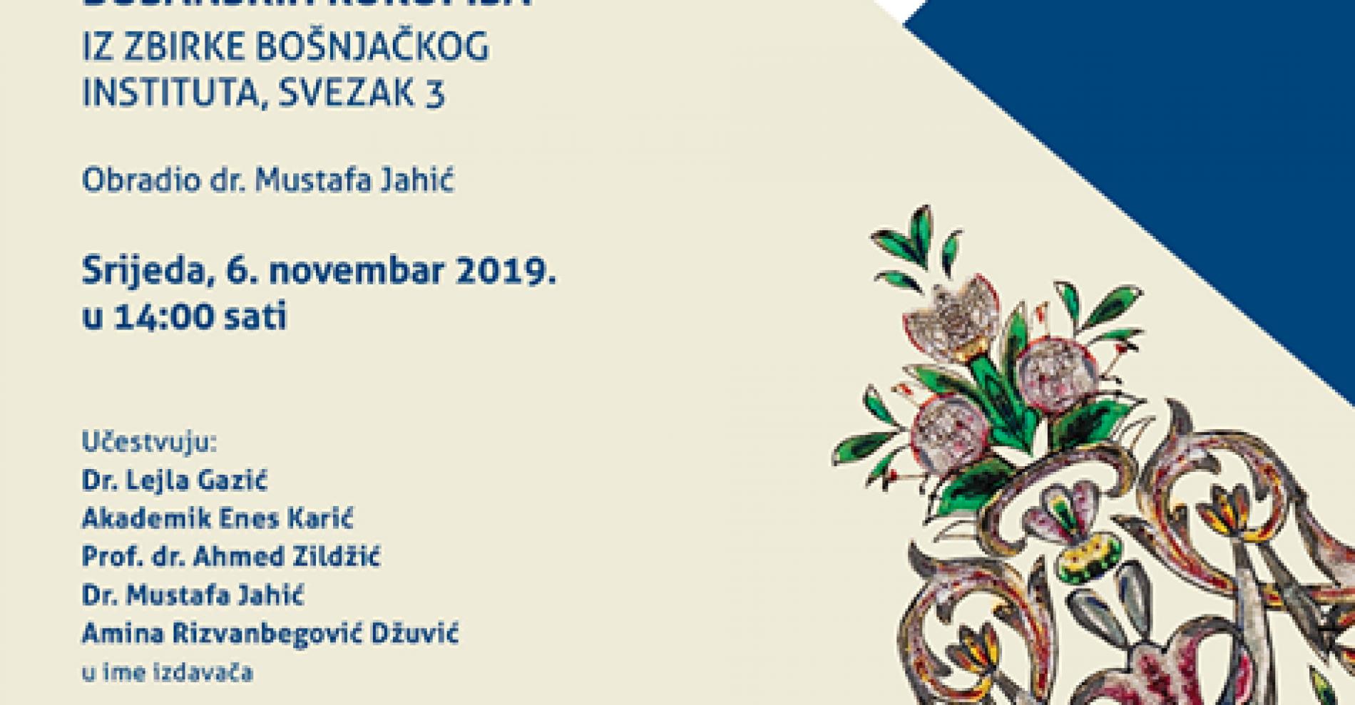 Katalog orijentalno-islamskih rukopisa vrijedan doprinos bosanskom naslijeđu