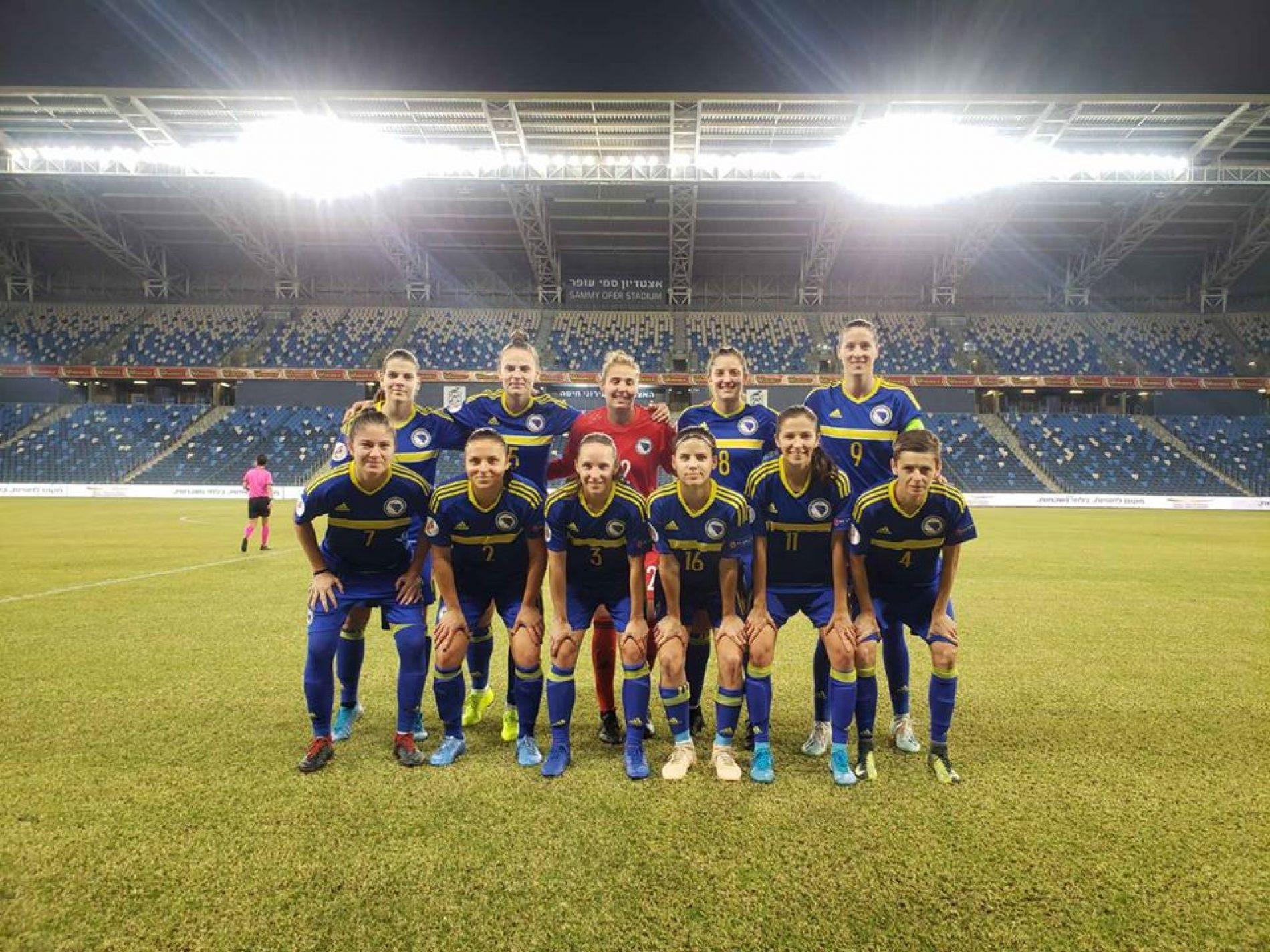 Ženski fudbal: Pobjeda Bosne u Haifi