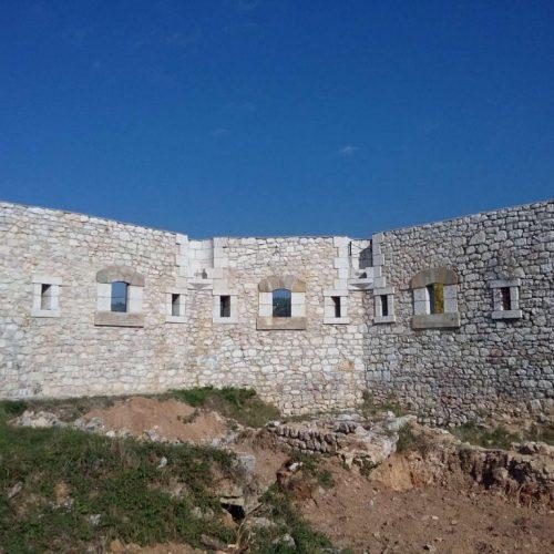 Završeni radovi na sanaciji zidova Bijele tabije