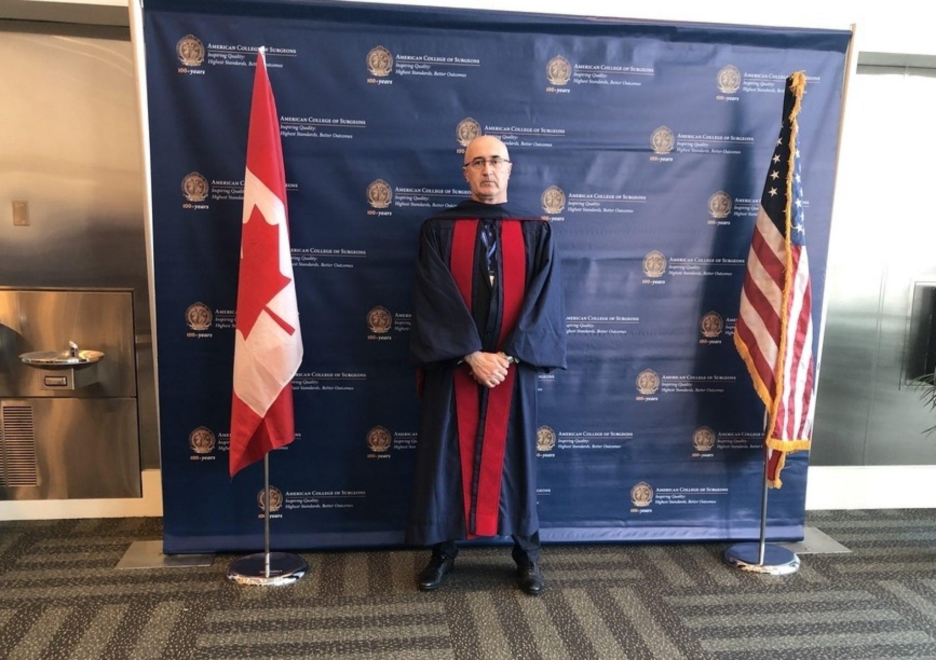 Prof. dr. Samir Delibegović postao član 'American College of Surgeons'