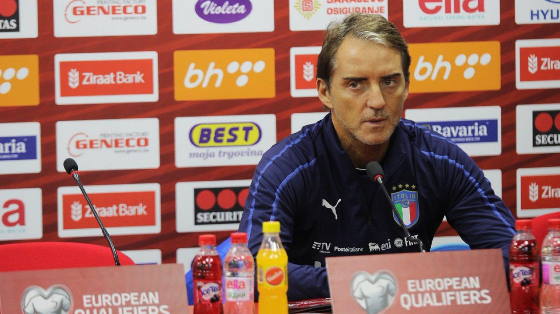 Mancini: Bosna i Hercegovna se ovdje osjeća dobro, ali dat ćemo i mi sve od sebe da odigramo dobru utakmicu