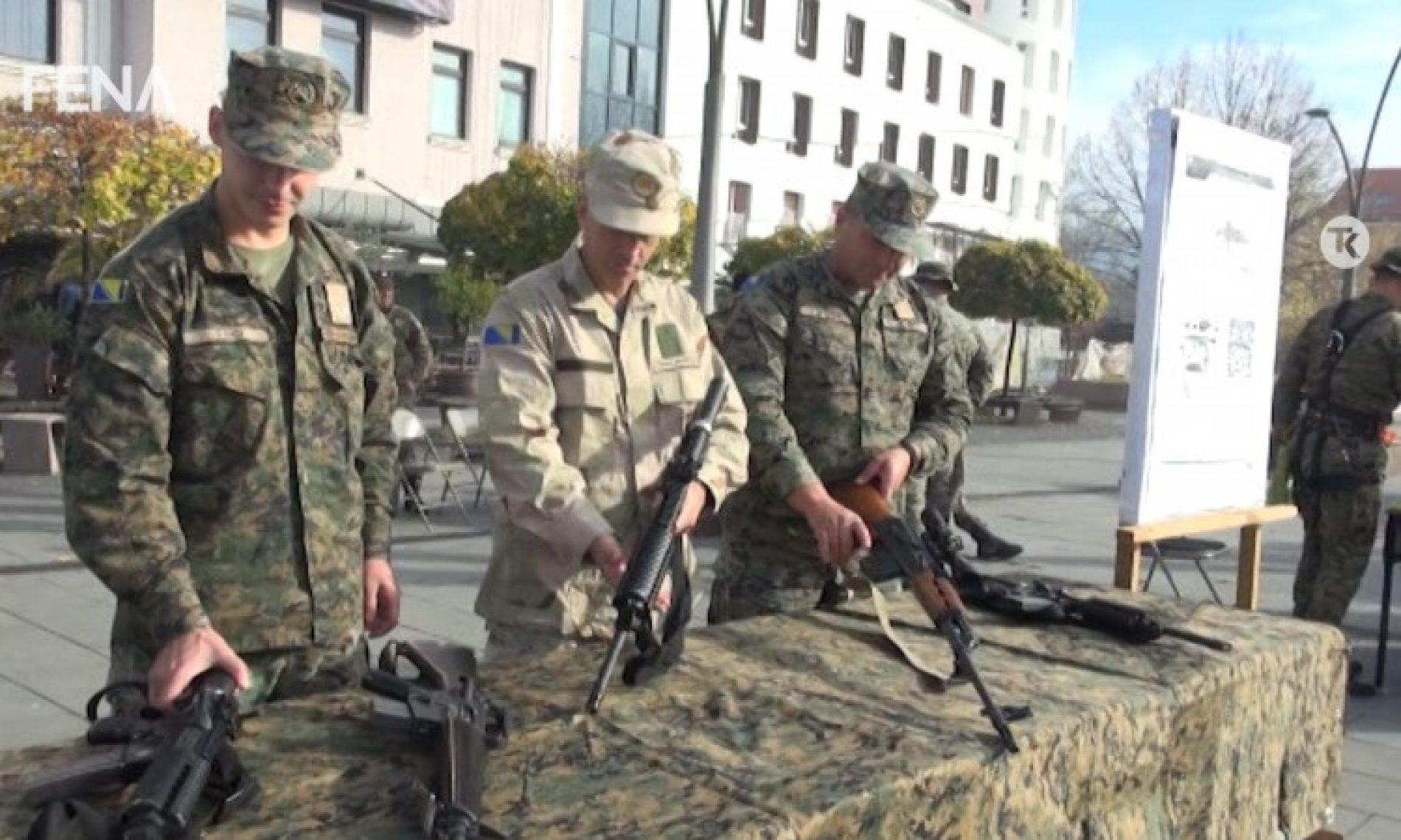 Građanima Tuzle predstavljene operativne sposobnosti jedinica OSBiH (Video)