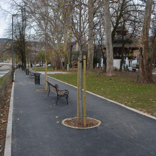 Završeno uređenje parka At mejdan i šetališta hadži hafiza Halida ef. Hadžimulića