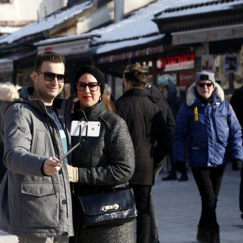 """Turisti iz regiona """"okupirali"""" glavni grad Bosne i Hercegovine pred doček Nove godine"""