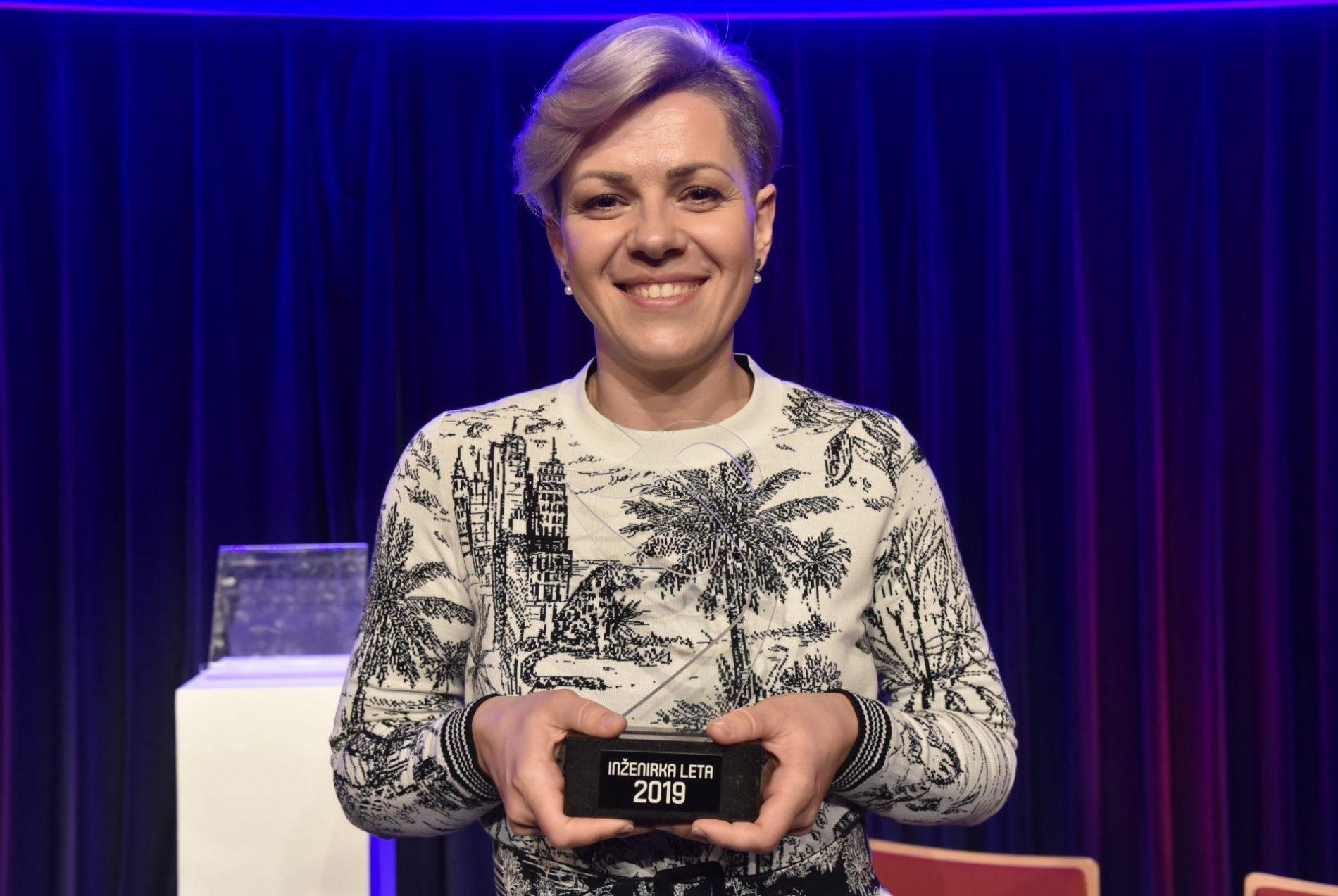 Dr. Aida Kamišalić Latifić, Inženjerka godine u Sloveniji