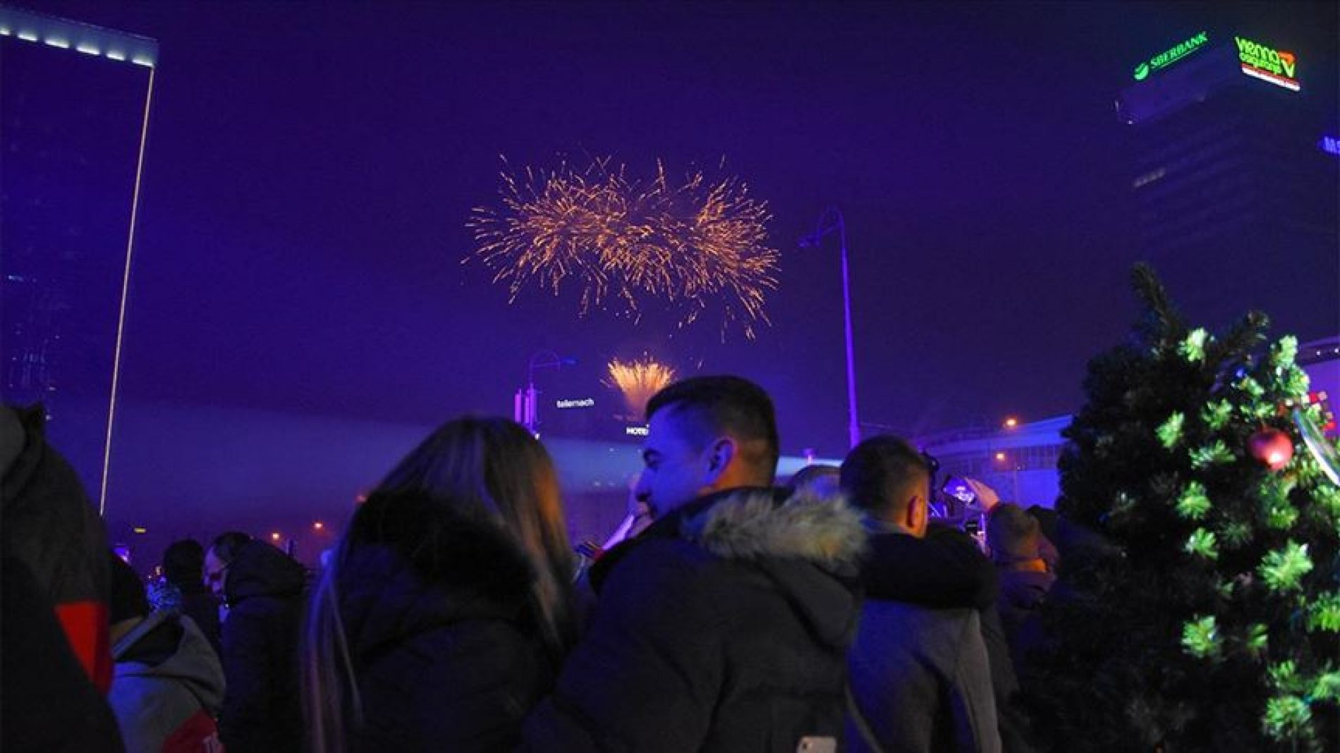 Sarajevo – Novogodišnja noć bez ijednog incidenta