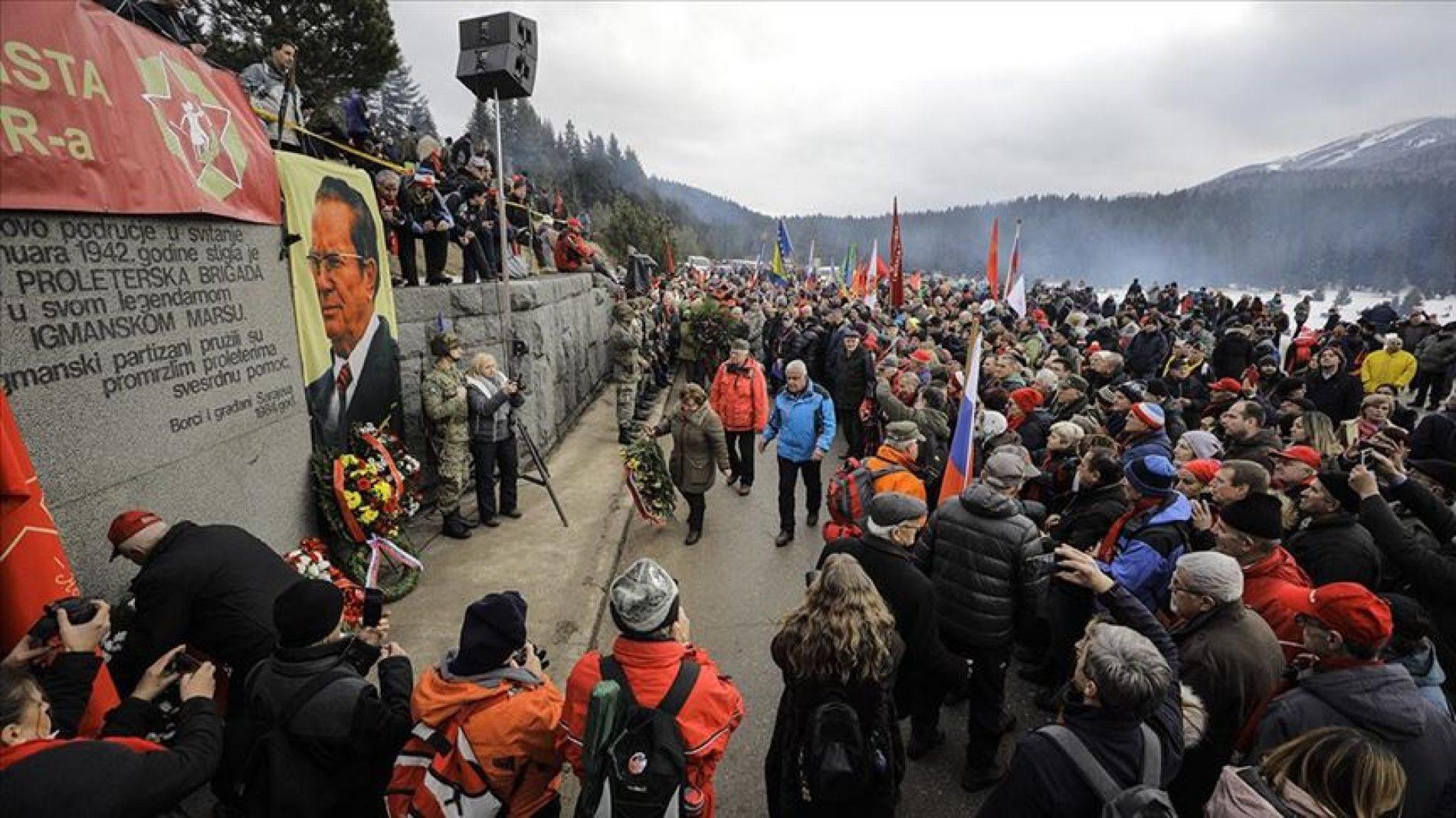 """Obilježavanje 78. godišnjice """"Igmanskog marša"""": Antifašizam nije iskorijenjen"""