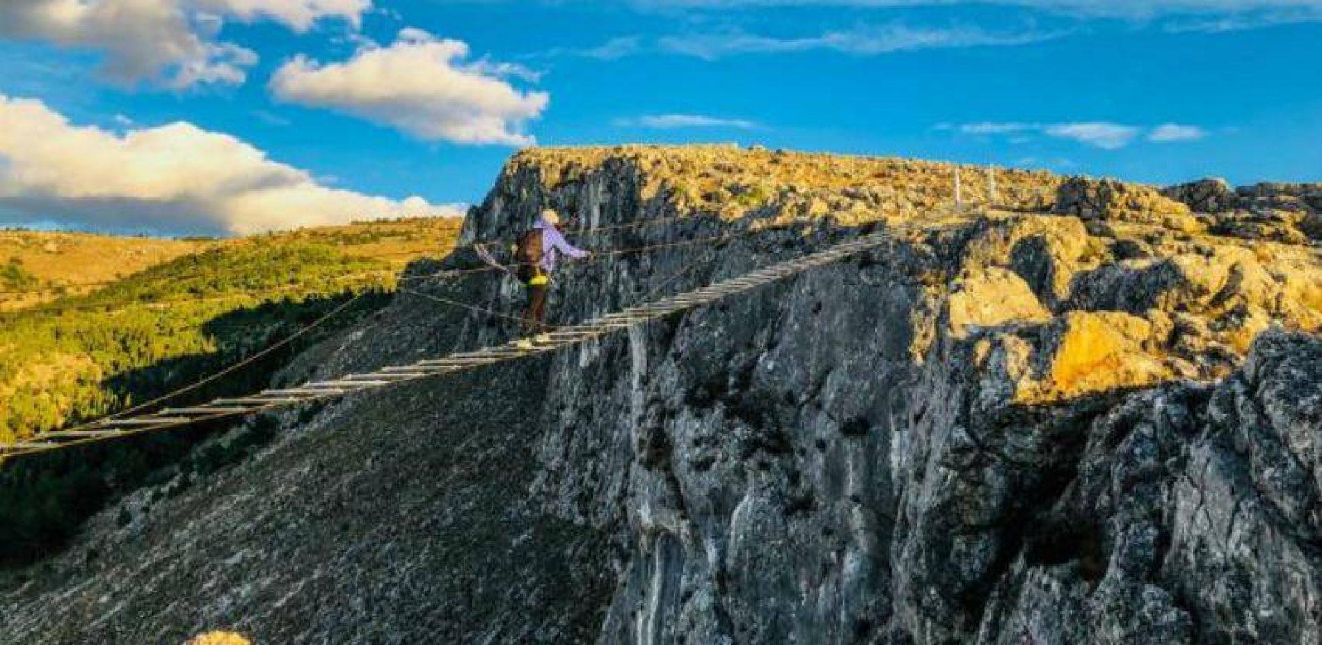 Mostar: Novi viseći most privlači ljubitelje adrenalina