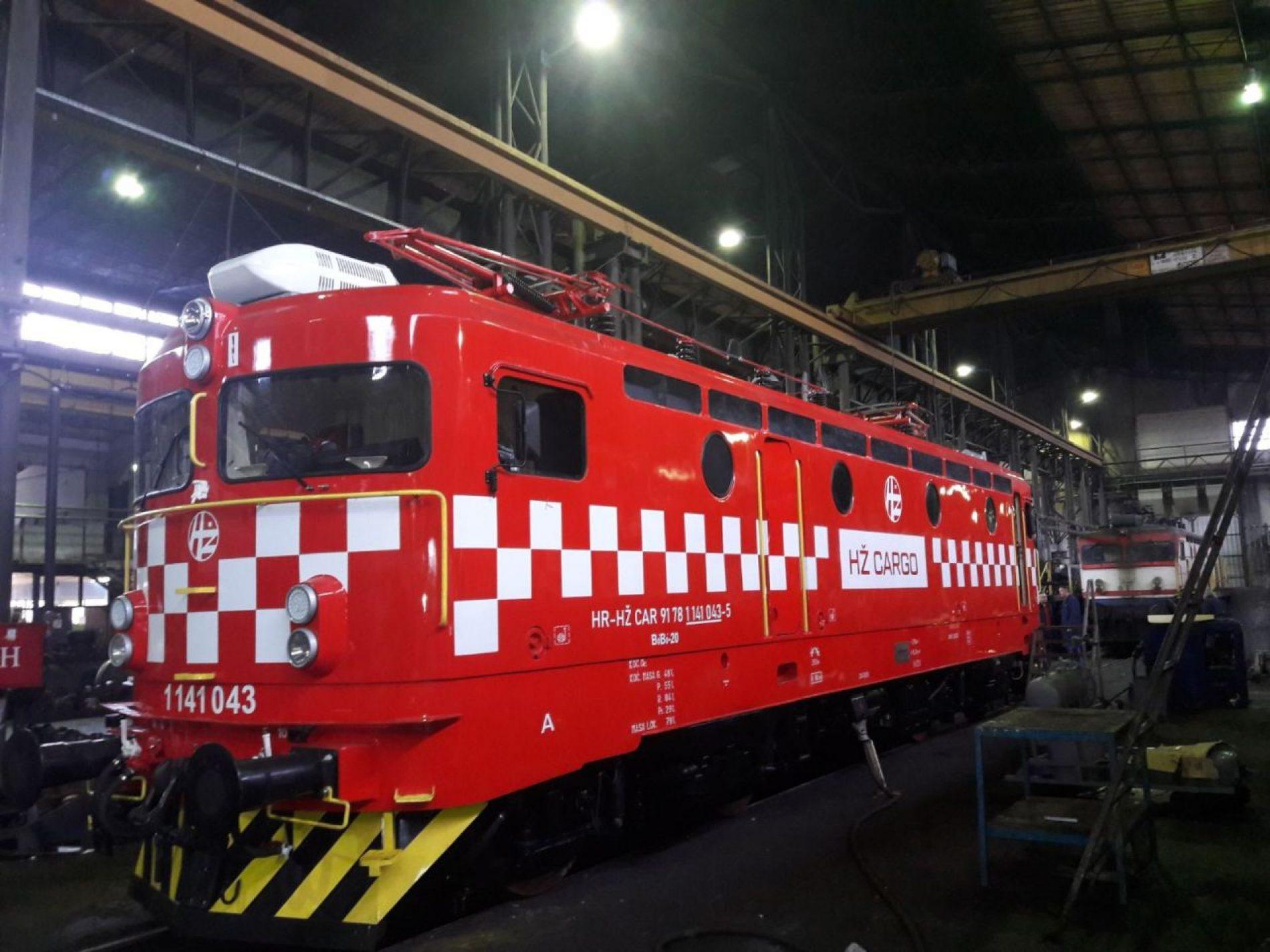 U Centralnoj radionici ŽFBiH remontovane prve lokomotive stranih željezničkih operatera