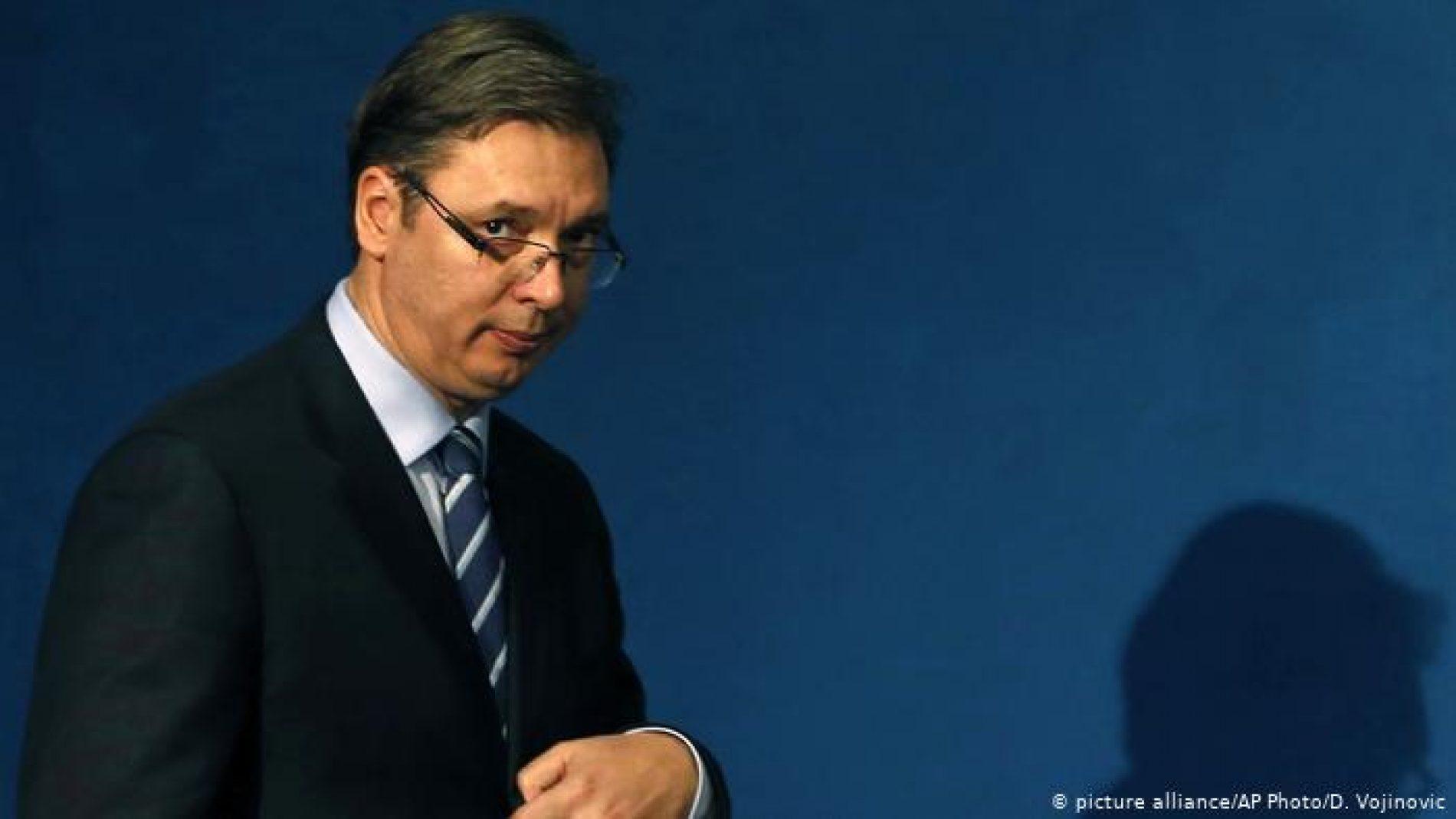 Centar upravljanja krizom u CG i Bosni i Hercegovini je A. Vučić